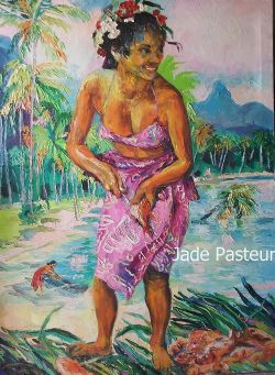 Fine Art - South Pacific, Island Life