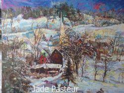 Fine Art - landscape, Home in Winter
