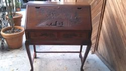 Beautiful Antique Oak desk