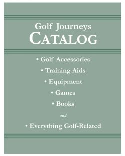 Golf Journeys Golf Products Catalog