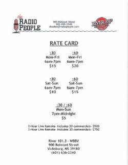 Radio Advertising in Vicksburg, MS