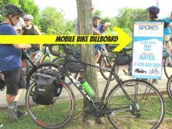 Mobile Bike Billboard