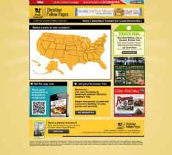 Territory License Agreement -- The Christian Yellow Pages