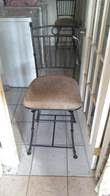 40;2) Antique Brass Chairs
