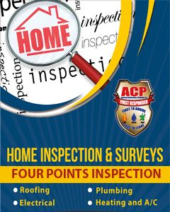 Home Inspections And Surveys  - $100