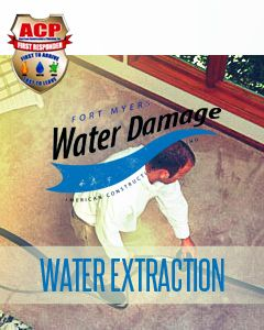 Water Extraction / Removal $100