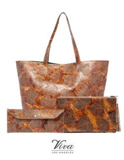 Viva of California - Handbags Sets 100% LEATHER